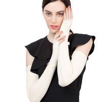 夏防晒手套女开车蕾丝手套长款袖套假袖子手套