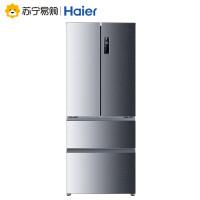 【苏宁易购】Haier/海尔 BCD-402WDBA四门冰箱家用风冷无霜法式多门四开门