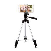 三脚架手机直播支架夹三角架单反户外照相机便携自拍