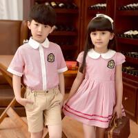 幼儿园园服男童女童英伦学院风校服夏季儿童装小学生服装班服套装