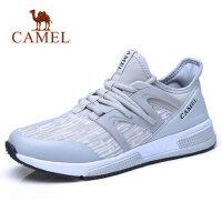 camel 骆驼男鞋慢跑运动鞋柔软通勤休闲缓震轻盈透气袜子健步鞋