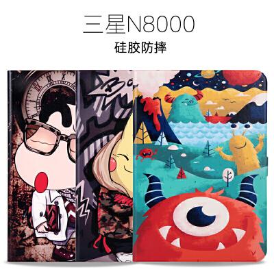 20190721075815642三星Galaxy Note 10.1寸GT-N8000保护套 N8010皮套平板卡通外壳