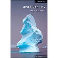 【预订】Sustainability 2E 9781509511068
