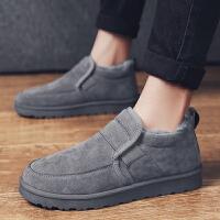 男士雪地靴2018新款冬季加绒保暖东北加厚户外低帮马丁棉靴潮棉鞋