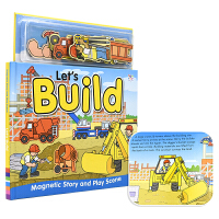 Magnetic Story and Play Scene Let's Build 磁贴故事书系列 建筑工地 幼儿互动