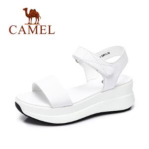 Camel/骆驼女鞋 春夏新款舒适女凉鞋 日常简约女生凉鞋