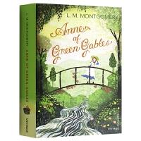 Anne of Green Gables 绿山墙的安妮 英文原版小说 儿童经典名著文学读物 露西莫德蒙格马利 全英文版正