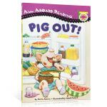 顺丰发货 All Aboard Reading Picture Reader Pig out! 汪培�E推荐阶段英文原版