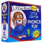 little critter 小毛人英语绘本小怪物系列故事 梅瑟梅尔 Phonics自然拼读法 12册盒装