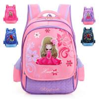 韩版可爱儿童书包 1-4年级学生双肩减负 防水尼龙小学生背包