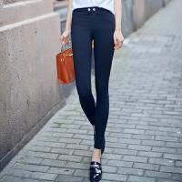 【支持礼品卡支付】春季新款魔术裤黑色高腰小脚铅笔裤紧身长裤女外穿打底裤子 M-C1723