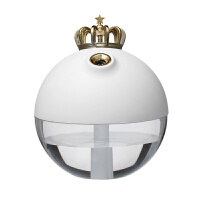 新款皇冠加湿器 桌面静音迷你usb充电空气加湿雾化器创意礼品 116*116*137MM