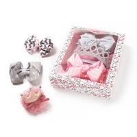 新生婴儿女宝宝发带女童头花头饰公主发箍女宝蕾丝
