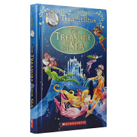Thea Stilton The Treasure Of The Sea 女老鼠记者全彩桥梁书小说 海底宝藏 儿童青少