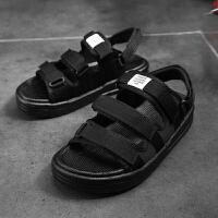 凉鞋男潮2019新款凉拖鞋越南男士沙滩鞋时尚休闲韩版凉鞋拖鞋两用夏季百搭鞋