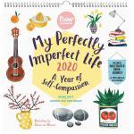 【现货】英文原版 Flow杂志-我完美的不完美生活 2020年挂历 插画日历 含贴纸、明信片 My Perfectly