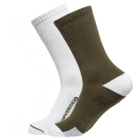 Converse匡威男袜女袜两双装运动袜中筒袜子10008732-A01