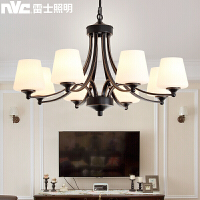 雷士照明(NVC)美式吊灯 客厅灯卧室灯餐厅灯吊灯美式吊灯欧式吊灯