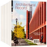 美国 Architectural Record 杂志 订阅2020年 B01建筑设计杂志