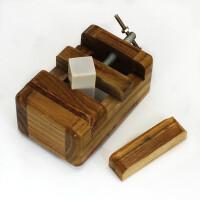 宏泰轩 大号篆刻工具 木制印床印章方块印床刻床夹具 木雕工艺品文房四宝