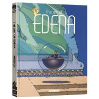 现货正版 The Art of Edena 埃德娜的艺术 英文原版 Moebius Library 法国漫画家墨比斯 莫