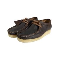 Clarks/其乐休闲皮鞋男士新款麂皮蜜蜡色厚实牛筋底休闲鞋26103602