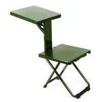 野战士兵折叠椅部队学习凳军迷户外便携折叠凳写字椅子