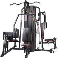 力动(RIDO) 综合训练器 多功能健身器材 健身房五人站 商用大型组合运动力量器械五人站-三配重TG70