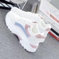 夏季网鞋女内增高女鞋小白鞋女学生单鞋鞋子女学生韩版运动鞋子女 白色 【舒适春款】