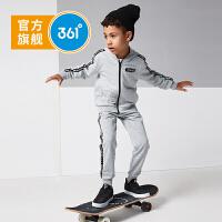 【开学季3折价:140.7】361度童装男童长袖套装2019新品儿童两件套运动休闲男童套装