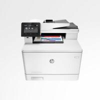 HP/惠普M377dw彩色A4激光自动双面惠普打印机复印机扫描机 一体机