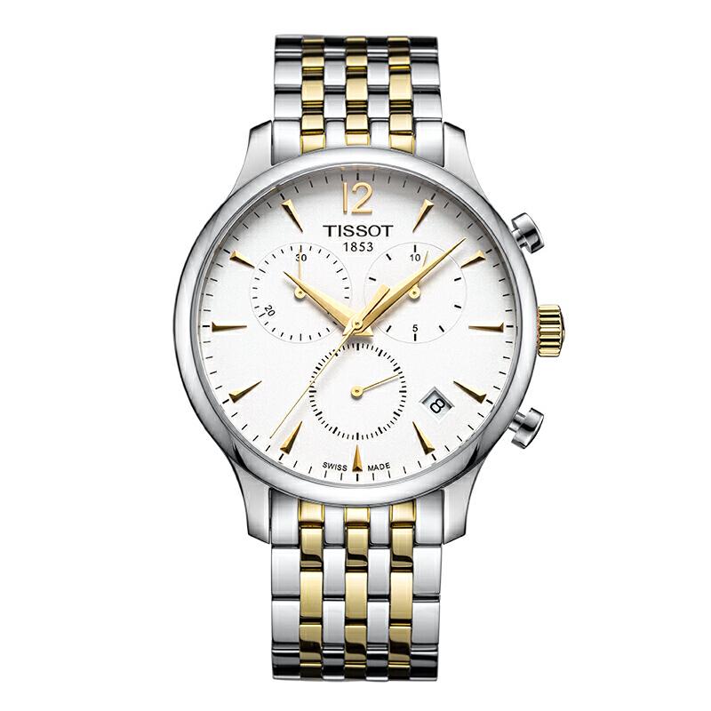 天梭TISSOT-T-CLASSIC 经典俊雅系列 T063.617.22.037.00 石英男士手表下单后16:45前支付,2-5个工作日到达