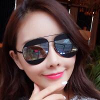 墨镜女潮 眼镜 偏光太阳镜女士圆脸复古眼镜 支持礼品卡支付
