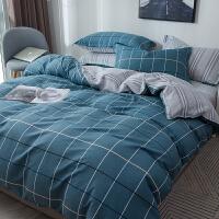 20191109044017175纯棉四件套全棉床单被套被子床上用品女网红宿舍三件套 1.2m床全棉三件套 被套 16