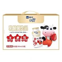 【7月产】蒙牛酸酸乳草莓味牛奶饮品250ml*24