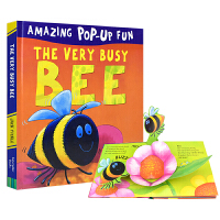 Amazing Pop-Up Fun The Very Busy Bee 忙碌的蜜蜂 3D立体机关故事书 3~6岁幼儿