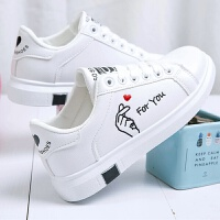 女童小白鞋2019新款潮韩版运动鞋12中大童板鞋15岁学生百搭休闲鞋