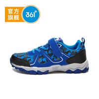 【儿童节立减价:97.7】361度童鞋男童运动鞋冬季新款儿童户外鞋透气中大童鞋子K71742605