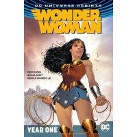 英文原版 神奇女侠第2卷:第1年 (重生) DC漫画 Wonder Woman Vol. 2: Year One (R