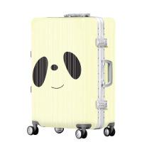 2018新款品牌卡通动漫ABS+PC拉杆箱男女20寸24万向轮学生行李箱子WLH293