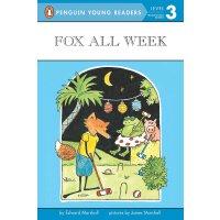 英文原版 企鹅分级读物 小狐外传 3级 Fox All Week (Penguin Young Readers, Lev