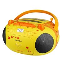 熊猫CD-201学生CD机播放器播放机便携式家用光盘光碟转盘机磁带一体机可放磁带的收音机儿童学习机早教面包机