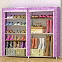 林仕屋简易鞋柜鞋架 组装多层经济型收纳防尘鞋架子现代简约0603C