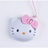 S55 个性鼠标 (创意女生可爱鼠标 凯蒂猫卡通鼠标 KT猫头有线鼠标)