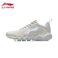 李宁跑步鞋2021官方新款轻便男鞋男士休闲黑色跑鞋鞋子低帮运动鞋