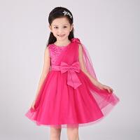六一儿童合唱服女童公主裙蓬蓬纱小花童礼服生日主持人钢琴演出服