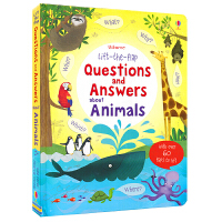 Usborne Questions and Answers About Animals 问与答百科翻翻书 动物篇 儿童