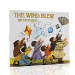 英文原版绘本 The Wind Blew 风吹起来 凯特・格林纳威奖 启蒙早教英语训练图书 儿童睡前读物 故事图画书