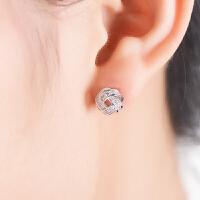 银耳钉女时尚气质耳环韩国简约百搭个性学生耳饰