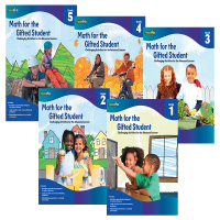 天才学生数学练习册一至五年级5册 Math for the Gifted Student Grade 1-5 Flash